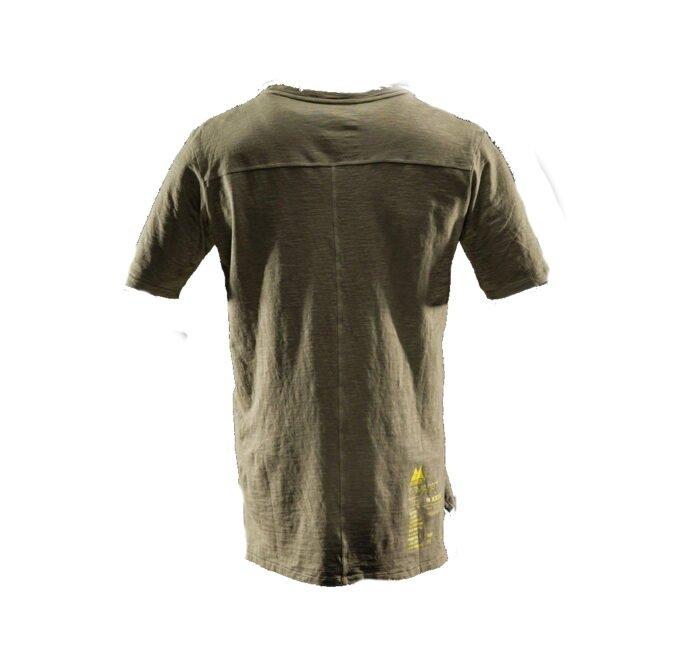 Monitor comfort Tee-shirt olijf 2