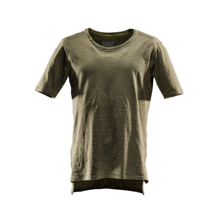 Monitor comfort Tee-shirt olijf