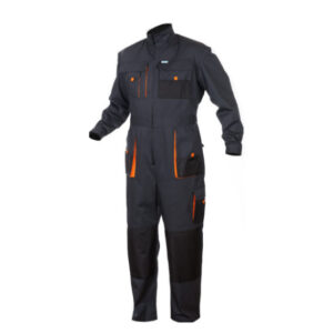 SaraTex King Overall Grijs (12-911) oranje