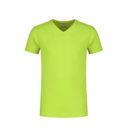 Santino Jazz T-shirt Korte mouwen - V hals limegroen