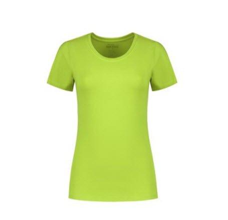 Santino Jive Dames T-shirt Korte mouwen - Stretch limegroen