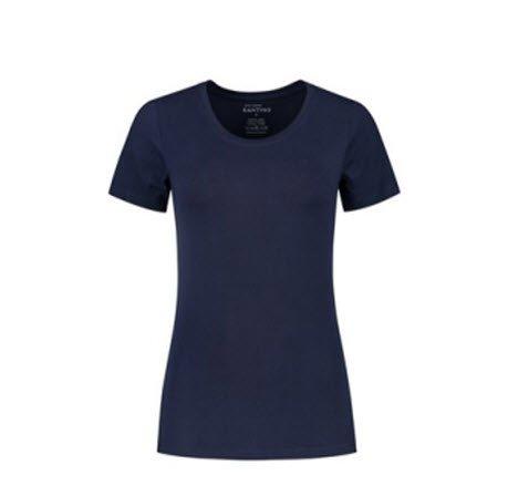 Santino Jive Dames T-shirt Korte mouwen - Stretch marine