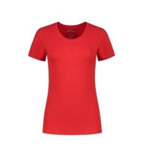 Santino Jive Dames T-shirt Korte mouwen - Stretch rood