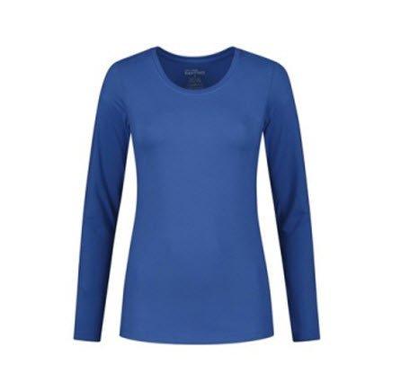 Santino Juna Dames T-shirt Lange mouwen blauw