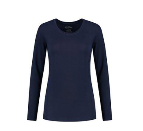 Santino Juna Dames T-shirt Lange mouwen marine