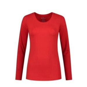 Santino Juna Dames T-shirt Lange mouwen rood
