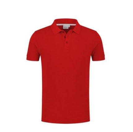 Santino Max Polo-shirt korte mouwen rood
