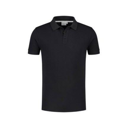 Santino Max Polo-shirt korte mouwen zwart