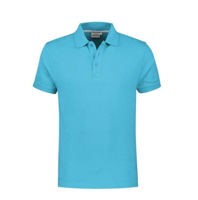Santino Mojo Polo-shirt korte mouwen - Stretch L blauw