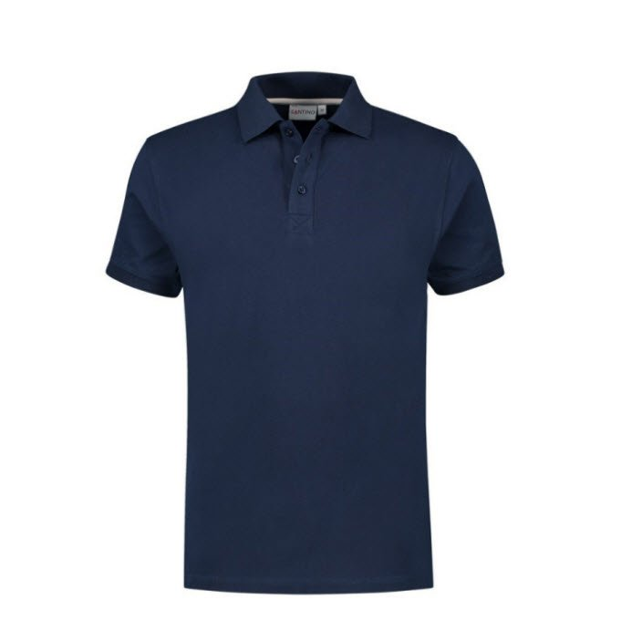 Santino Mojo Polo-shirt korte mouwen - Stretch marine