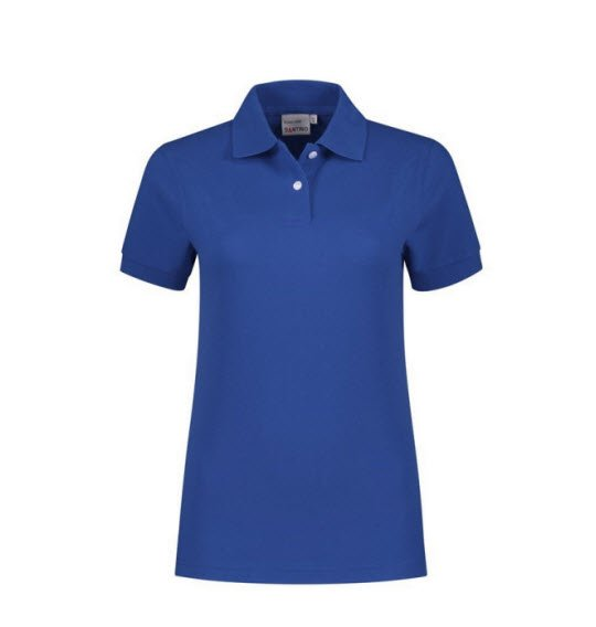 Santino Ricardo Dames Polo-shirt korte mouwen blauw
