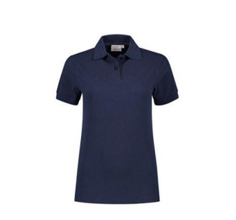Santino Ricardo Dames Polo-shirt korte mouwen marine