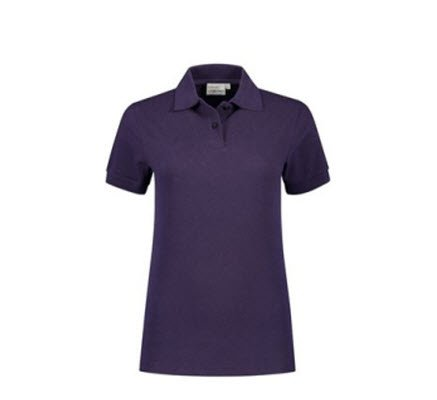 Santino Ricardo Dames Polo-shirt korte mouwen paars