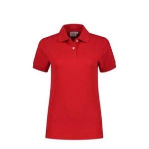 Santino Ricardo Dames Polo-shirt korte mouwen rood