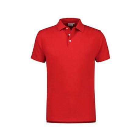 Santino Ricardo Polo-shirt korte mouwen rood