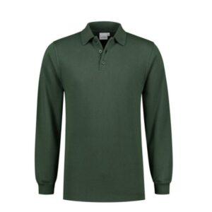 Santino Rick Polo sweater lange mouwen D groen