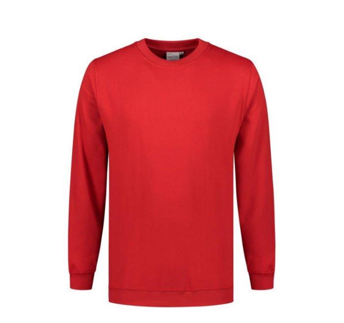 Santino Roland Sweater lange mouwen rood