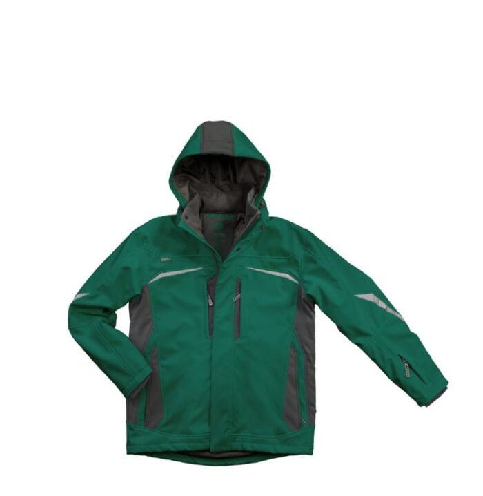 Excess Champ Softshell winterjack (313) groen