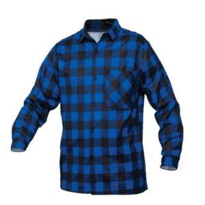 SaraTex Overhemd ruit - Flanel (10-106) blauw