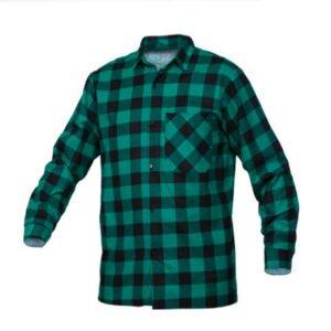 SaraTex Overhemd ruit - Flanel (10-106) groen