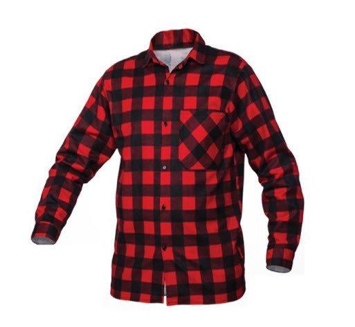 SaraTex Overhemd ruit - Flanel (10-106) rood