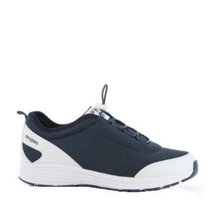 Oxypas James sportieve sneaker - SRA marine