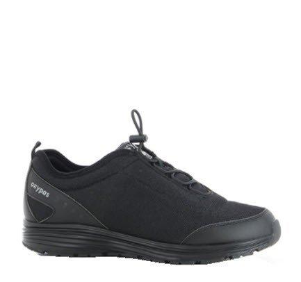 Oxypas James sportieve sneaker - SRA zwart