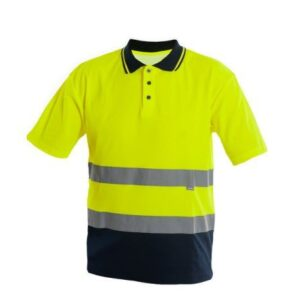 Saratex Drogowiec Poloshirt (14-520) Yellow