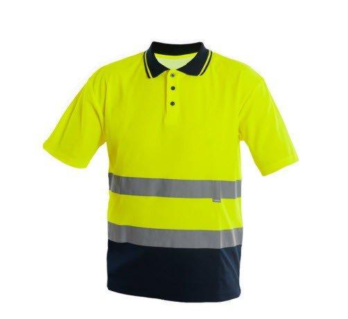 Saratex Drogowiec Poloshirt (14-520) Yellow
