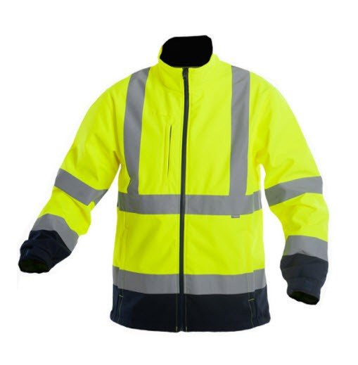 Saratex Drogowiec Softshell (14-420) Yellow