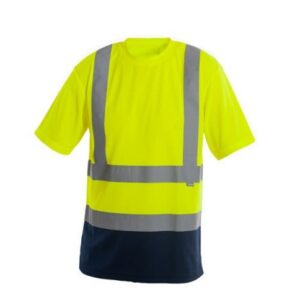 Saratex Drogowiec T-shirt (14-320) Yellow