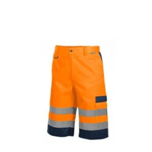 Saratex Drogowiec korte werkbroek (11-020) Orange