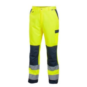 Saratex Drogowiec werkbroek (11-520) Yellow