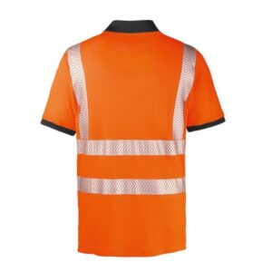 4Protect Hi-Vis Polo t-shirt Orlando oranje 2