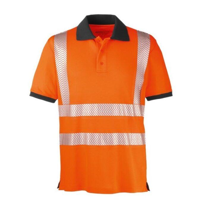 4Protect Hi-Vis Polo t-shirt Orlando oranje