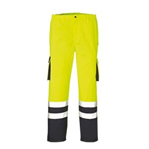 4Protect Hi-Vis werkbroek Baltimore geel