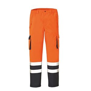 4Protect Hi-Vis werkbroek Baltimore oranje