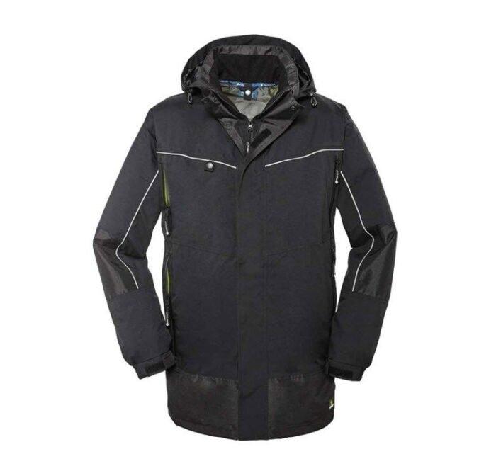 4Protect weerbestendige Parka jas Philly zwart