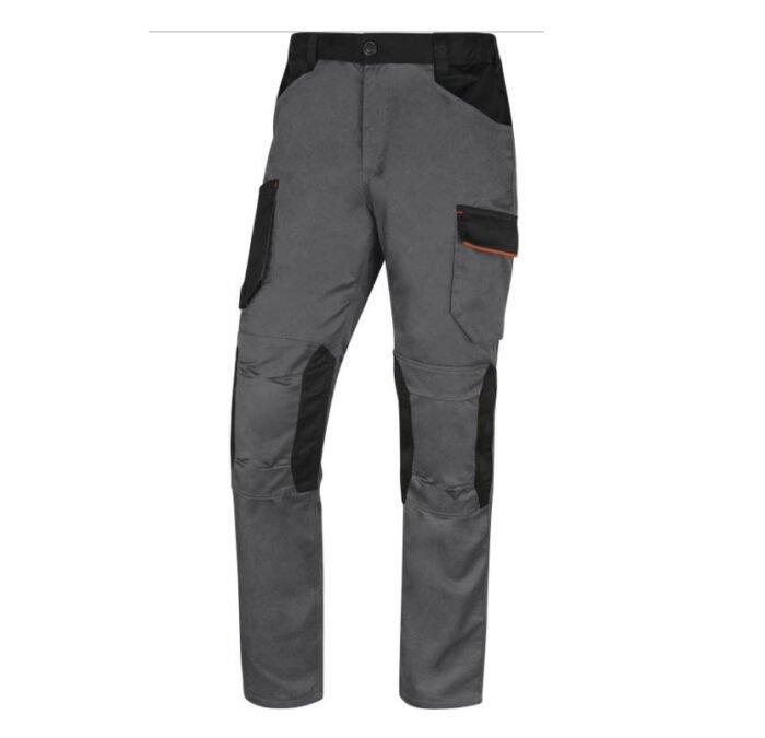 delta plus mach iii werkbroek polyester katoen grijs