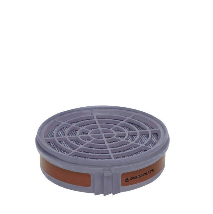DeltaPlus Half-gelaatsmasker filterpatroon A1 (2 stuk)