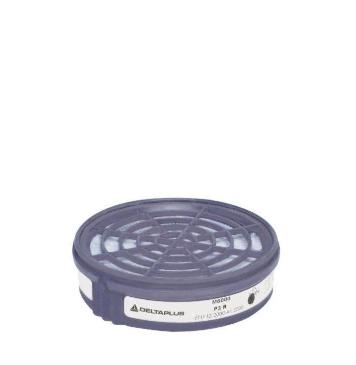 DeltaPlus Half-gelaatsmasker filterpatroon P3 (2 stuk)