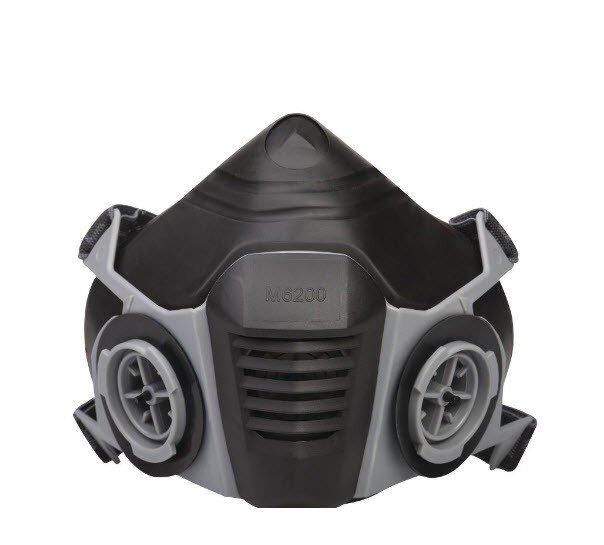 DeltaPlus Half-gelaatsmasker van thermoplastic 6200