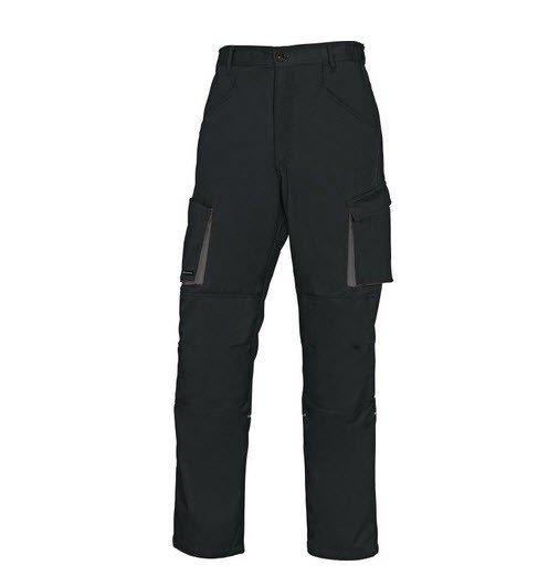DeltaPlus Mach II werkbroek - Polyester-katoen zwart