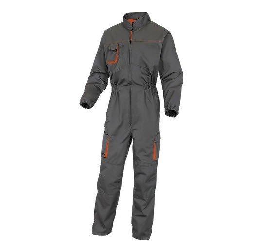 DeltaPlus Mach II werkoverall - Polyester-katoen grijs