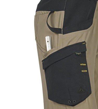Dp Mach V tuinbroek - Polyester-katoen beige 3