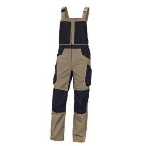 Dp Mach V tuinbroek - Polyester-katoen beige
