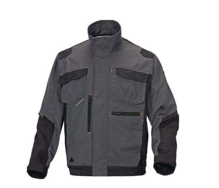 DeltaPlus Mach V werkjas - Polyester-katoen grijs