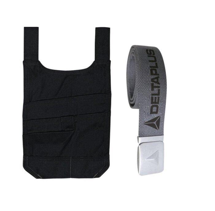 DeltaPlus Mach smartpocket voor werkbroek - zwart 2