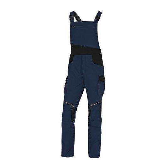 DeltaPlus Mach tuinbroek - Ripstop Polyester-katoen blauw