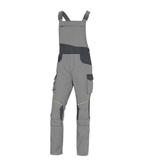 DeltaPlus Mach tuinbroek - Ripstop Polyester-katoen grijs